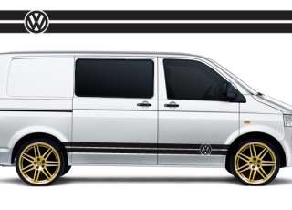 VW Volkswagen Transporter T4 T5 Campervan racing stripes stickers