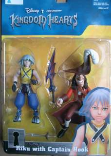 KINGDOM HEARTS Mirage Figure RIKU & HOOK NEW!!