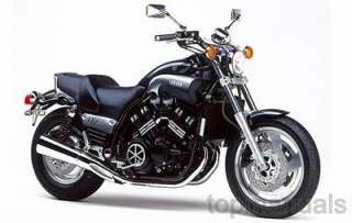 MANUAL TALLER YAMAHA VMAX 1200 WORKSHOP VMX12 MANUALE