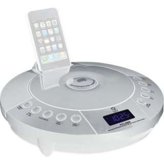 Pyle IPhone/IPod FM Radio Receiver with CD Player & Alarm Clock in