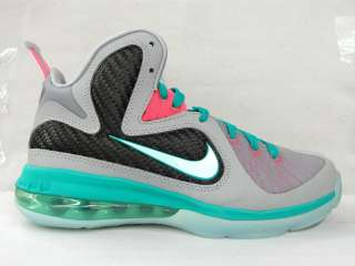 Lebron 9 IX Miami Vice South Beach Boys Girls Big Kids Youth GS sz