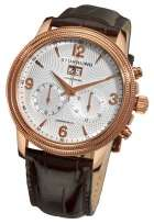 Stuhrling Original 286 3345K2 Mercury Mechanical Chrono Leather Strap