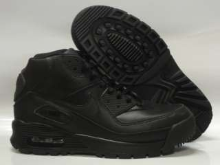 Nike Air Max 90 Black Boots GS Kids Size 6