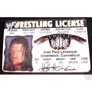 Triple HHH WWE   Collector Card: Everything Else
