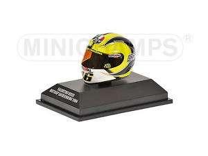 Minichamps AGV Helmet Valentino Rossi Sachsenring GP