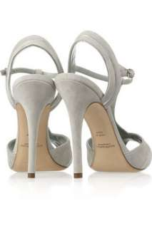 Ralph Lauren Collection Jalie suede T bar sandals   52% Off Now at THE