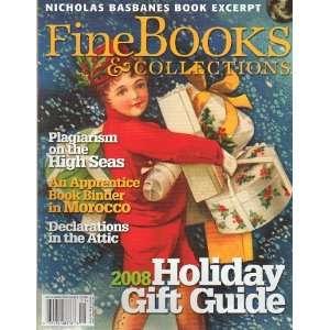 Fine Books and Collecions November/Dec 2008 P. Sco Brown Books