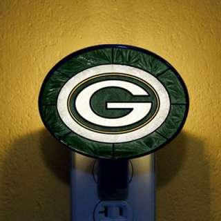 Green Bay Packers Art Glass Night Light