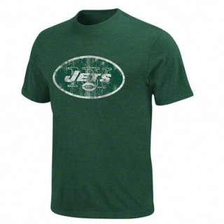 New York Jets Green Vintage Logo III T Shirt