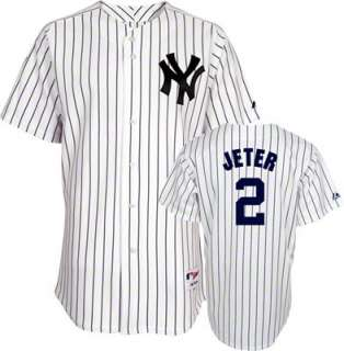 Derek Jeter Youth New York Yankees Home Pinstripe Replica Jersey