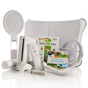 Electronics Nintendo Wii Fitness Video Games & Systems