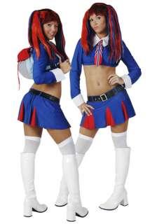 Sexy British School Girl Costume   Womens Harajuku Costumes