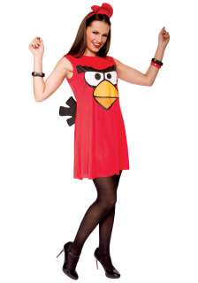 Angry Birds Adult Red Bird Tank Dress   Womens Angry Birds Costumes
