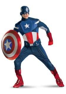 Avengers Replica Captain America Costume   Authenic Avengers Costume
