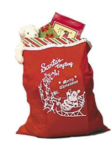 Red Santa Toy Bag  Cheap Christmas Halloween Costume for Accessories