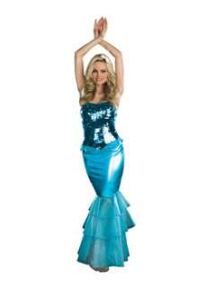 Sexy Sea Diva Mermaid  Cheap Mermaids Halloween Costume for Sexy