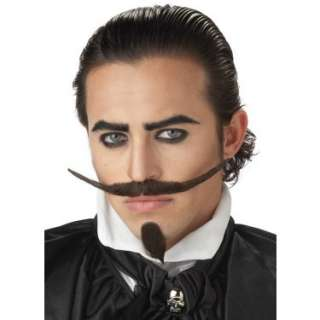 Halloween Costumes The Dandy Moustache and Chin Patch