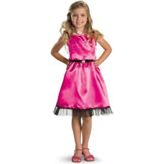 Sharpays Fabulous Adventure   Sharpays Pink Dress Child Costume 800426