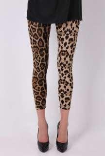 Leopard Print Leggings by Daddy Long Legs   Multicoloured   Buy