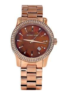 Michael Kors Watches  Rose Gold and Glitz Watch by Michael Kors