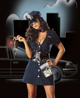 Sexy Corrupt Cop Costume   Sexy Police Officer Costumes   15RL4005