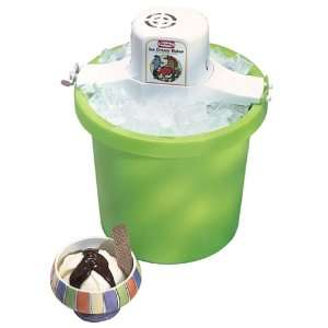Rival Compact Ice Cream Maker   Green Kitchen & Dining