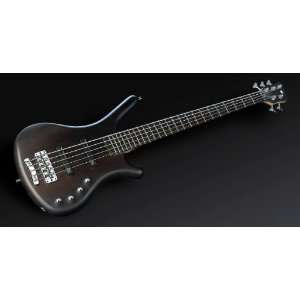 NIRVANA BLACK 5 STRING ELECTRIC BASS GUITAR Musical Instruments