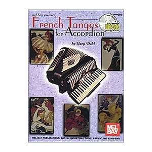 French Tangos for Accordion Book/CD Set Electronics