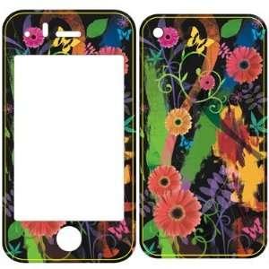 I phone 3G&3GS Flowers Sticker Skins (Wrapz) Everything