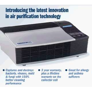 Oreck Air Purifier Tabletop XL Professional (Black)   50%