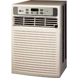 LG 9,800 BTU Casement Window Air Conditioner with Remote Control (115