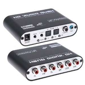 5.1 Channel DTS/AC 3 Digital Surround Sound Audio Decoder