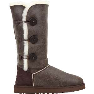 UGG Bailey Button Triplet Bomber Womens Boots 182151400  boots