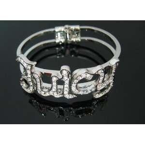 Juicy Look Couture Crystal Bangle Bracelet