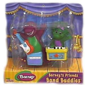 Barney Band Buddies Friends Set with Barney & Baby Bop Toys & Games