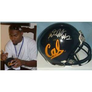 DeSean Jackson (Cal Bears) Signed Autographed Mini Helmet (PSA/DNA COA