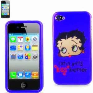 BETTY BOOP WITH LATIN GIRLS KISS BETTRE PRINTED 2D PROTECTOR COVER