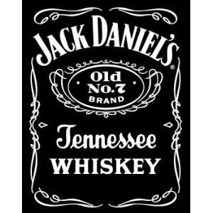 jack daniels tennessee whiskey billiard pool game table cover cue 8. Black Bedroom Furniture Sets. Home Design Ideas