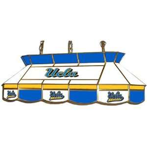 UCLA Bruins Stained Glass Pool Table Light