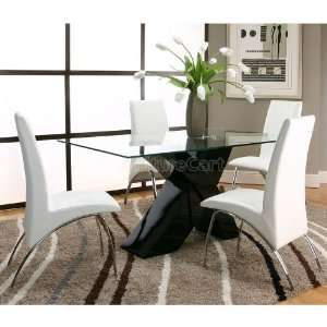 White wash dining room set on popscreen for Black n white dining rooms