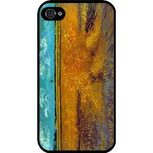 Van Gogh Art Sheaves Rubber Black iphone Case (with bumper) Cover