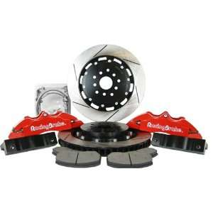 Piston Front Big Brake Kit with Red Calipers for Subaru Automotive
