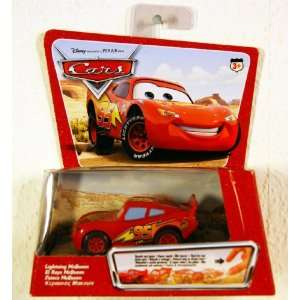 Cars LIGHTNING MCQUEEN PULLBAX Vehicle Toys & Games