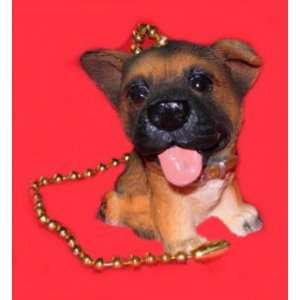GERMAN SHEPHERD Ceiling FAN PULL chain dog home decor