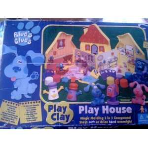 Blues Clues Play Clay Play House Set Toys & Games