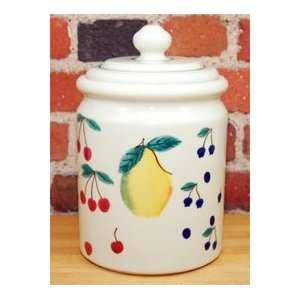 FRUIT SALAD 5 LB CANISTER / COOKIE JAR