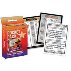 Aleken Games Country Music Triviologies Pocket Pack