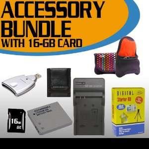 Card Reader + Memory Card Wallet + Deluxe Camera Case + Accessory
