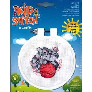 Kitty Kid Stitch kit (cross stitch) Arts, Crafts & Sewing