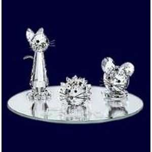 Authentic Swarovski Crystal Figurine 3 Piece Starter Set